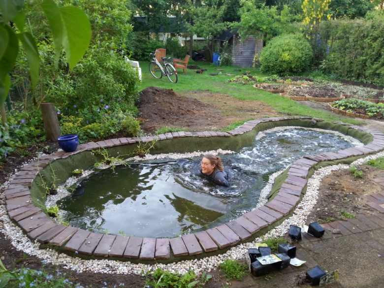 Making a Pond